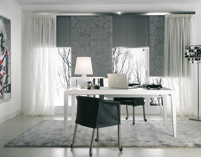Tende Per Finestra Con Cassonetto : Tende moderne per finestre con cassonetti